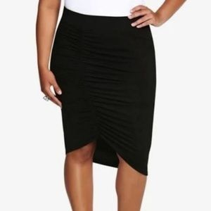 TORRID Gathered Skirt